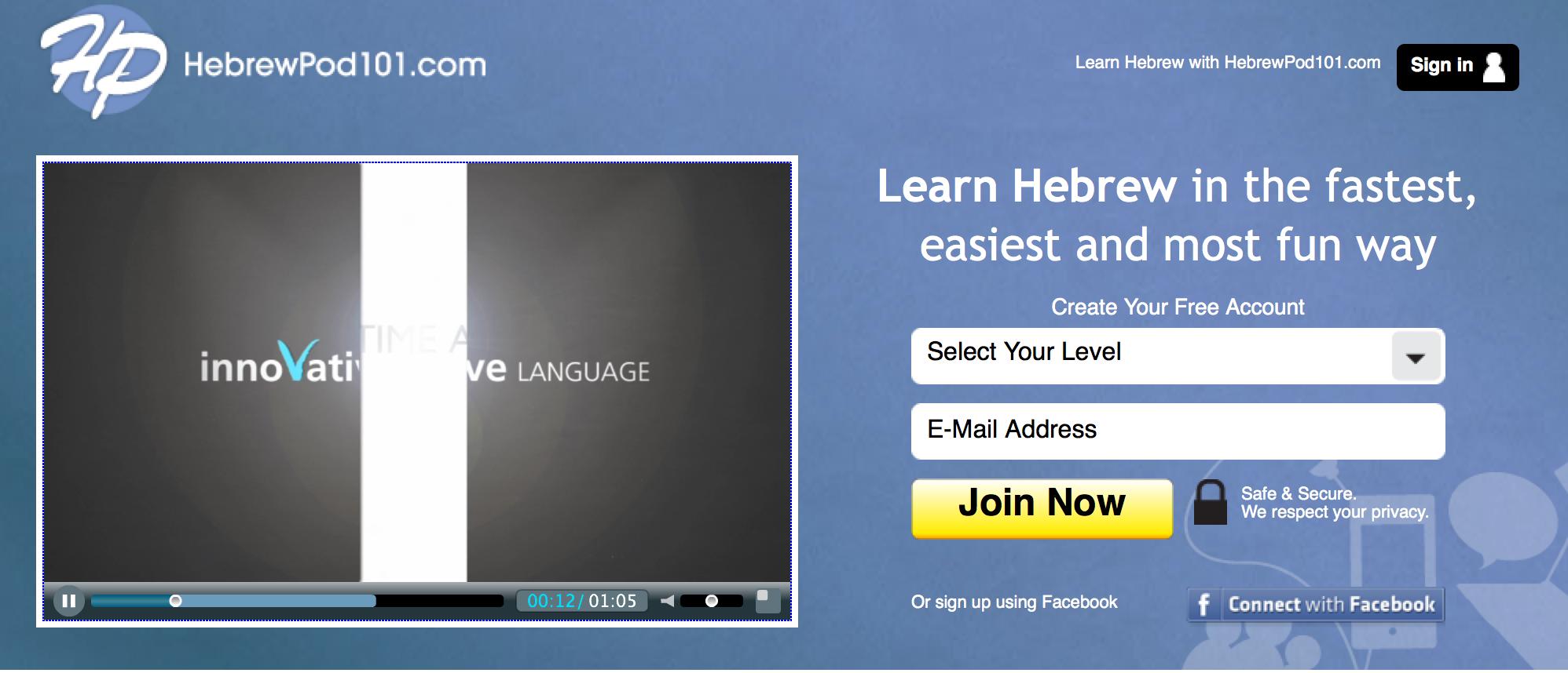 introduction to hebrew HebrewPod101.com
