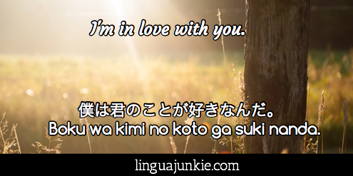 I Love You Quotes Japanese : japanese love phrases