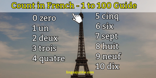 Counting in French 1 to 100: Easy French Number Guide