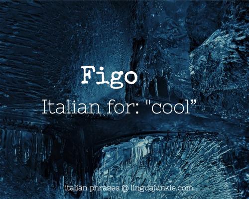 Figo beautiful italian words