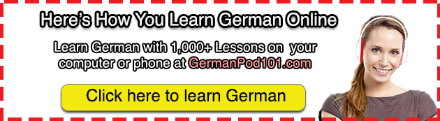 learn german @ germanpod101.com