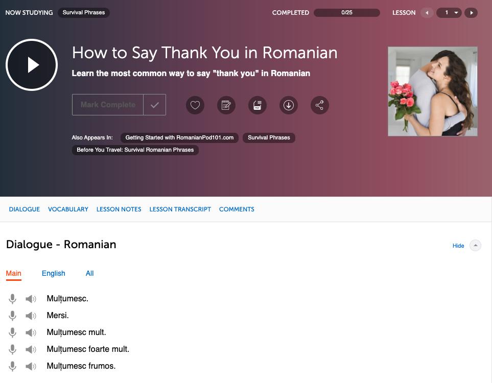 RomanianPod101 Review