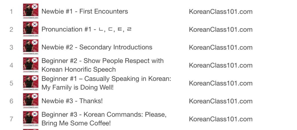 koreanclass101.com lessons