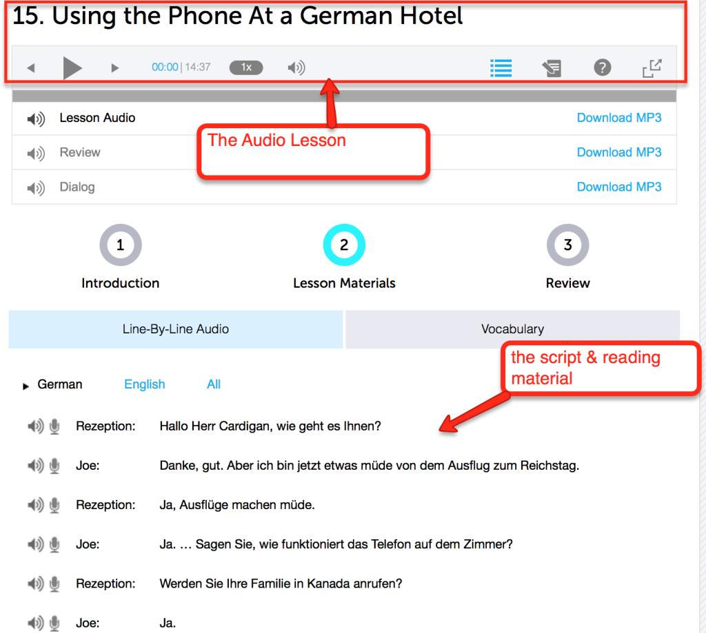 german learning strategies