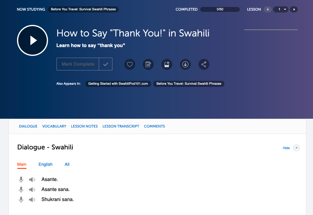 Swahilipod101 review