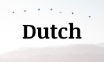 dutch word of the day
