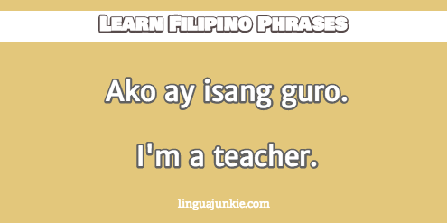 How to Introduce Yourself in Filipino in 10 Lines