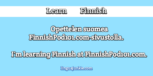 introduce yourself in finnish