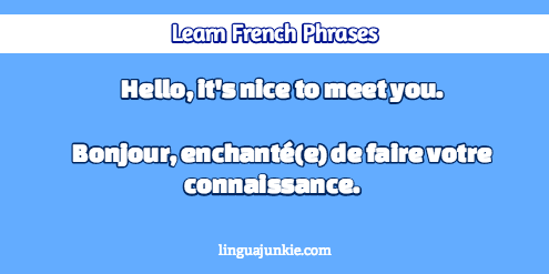 How To Introduce Yourself In French In 10 Lines