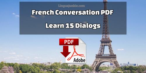 basic french conversation pdf