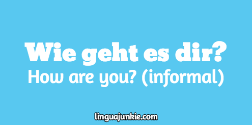 10 ways to say how are you in german answers