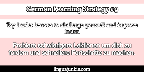 german language strategies