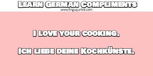 german flirting lines
