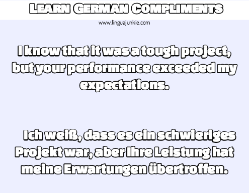 German Phrases: Learn the TOP 15 German Compliments