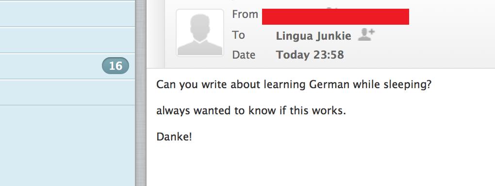 learn german while you sleep