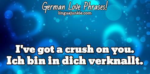 German Love Phrases - Linguajunkie.com