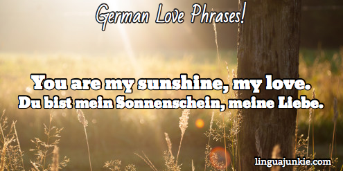 German flirting phrases