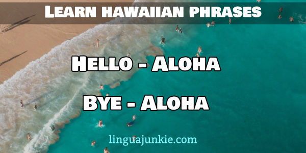 hello in hawaiian