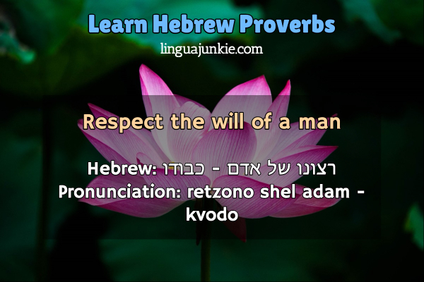 hebrew proverbs