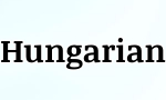 hungarian word of the day