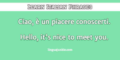 How to introduce yourself in italian in 10 lines introduce yourself in italian m4hsunfo