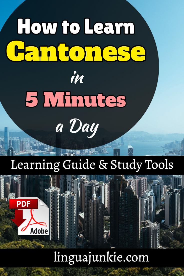 learn cantonese in 5 minutes