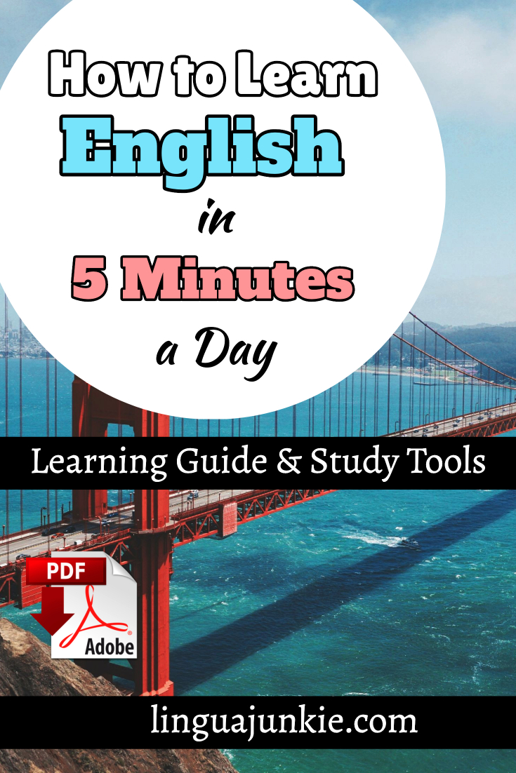 learn english in 5 minutes a day