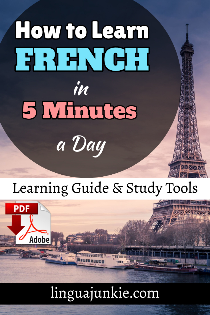 learn french in 5 minutes