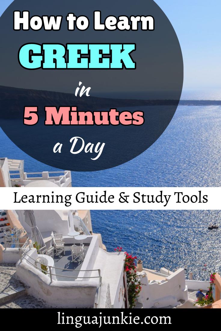learn greek in 5 minutes