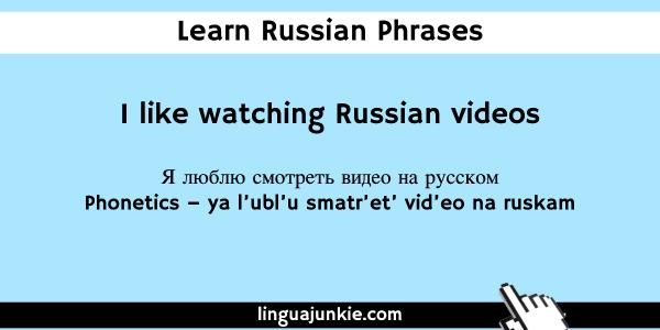 learn russian on youtube