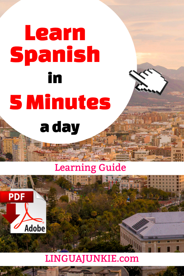 spanish in 5 minutes