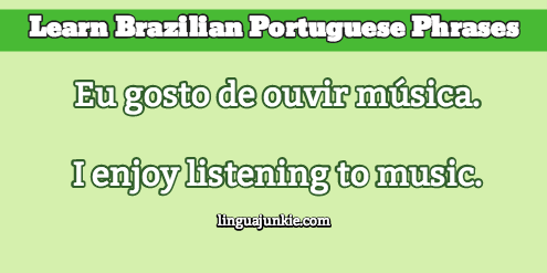 introduce yourself in portuguese