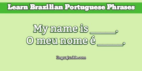 How to introduce yourself in portuguese in 10 lines introduce yourself in portuguese m4hsunfo