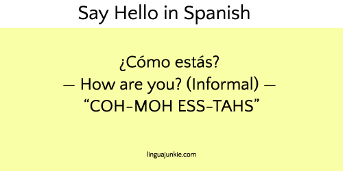 10 ways to say hello in spanish listen to the audio m4hsunfo