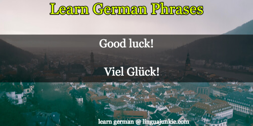 how to you say bye in german