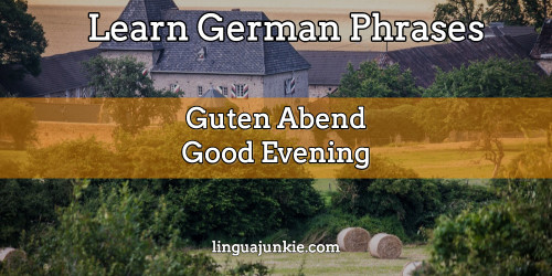 How Do Say Good Morning In German : Awesome ways to say hello in german greetings