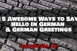 hello in german