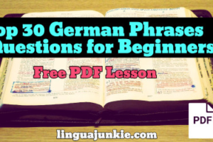 german pdf lessons
