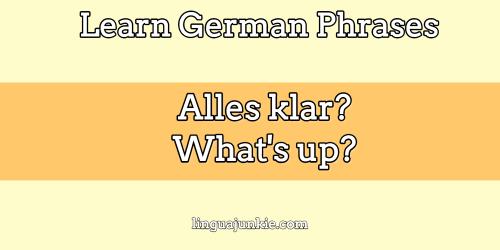 hello my darling in german