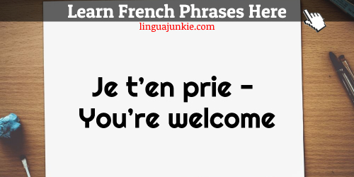 thank you in french