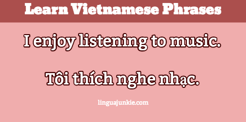 introduce yourself in vietnamese