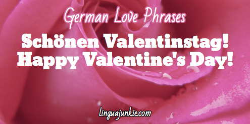 Valetines Day in German - linguajunkie.com