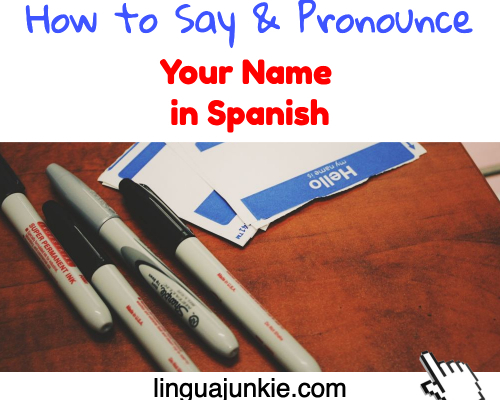 whats my name in spanish